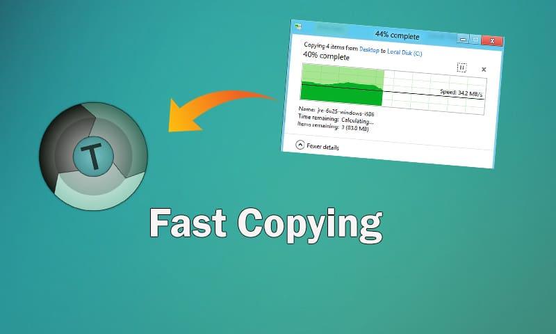High Speed Data Copy කරගමු