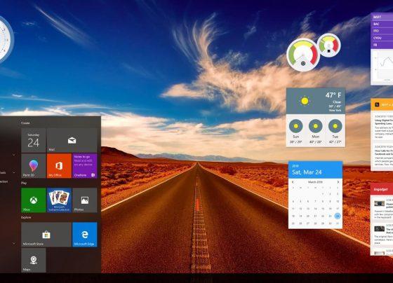 windows 10 Gadget pack