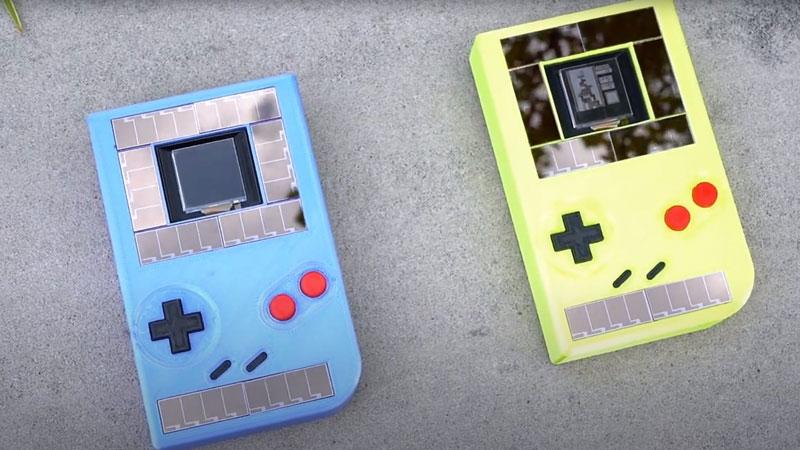 ලොව Battery රහිත Game Boy Console එක ( Video )