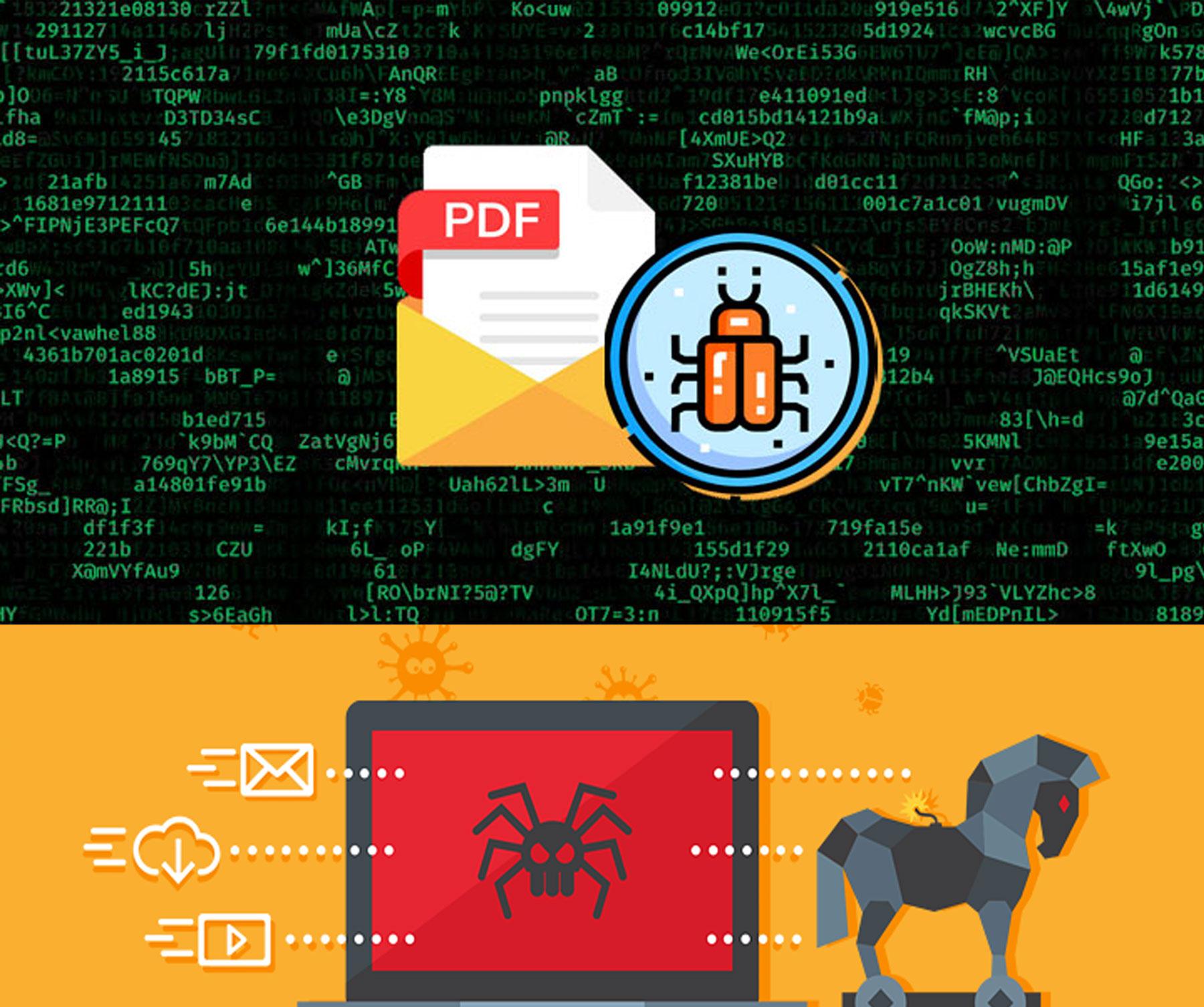 හැකර්වරුන් විසින් Malware වර්ගයට අයත් PDF virus එකක් අන්තර්ජාලයට එකතු කරයි 🦠